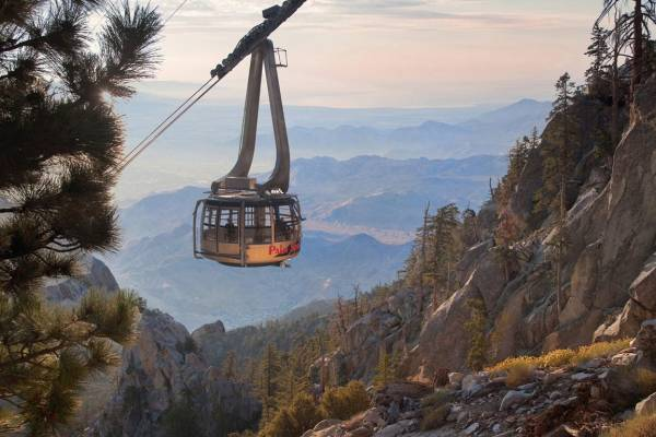 Palm Springs CA Aerial Tramway