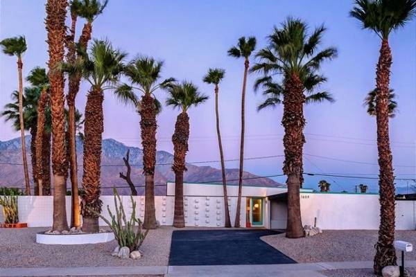 palm springs mid century homes