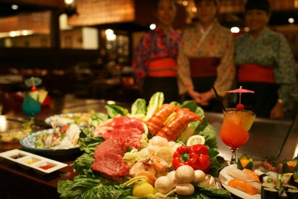 Kobe Japanese Steak House Rancho Mirage CA